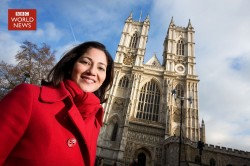 Mishal Husain - Westminster Abbey